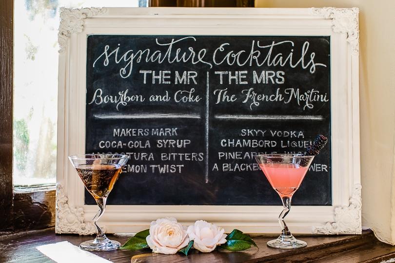 Wedding Reception Drinks - Wedding Stories